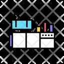 Drugs Production Machine Icon