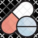 Drugs Medical Treatment Medication Icon