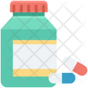 Drugs Food Supplements Icon