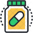 Drugs Medicine Bottle Icon