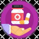 Medicines Care Pills Bottle Capsule Bottle Icon