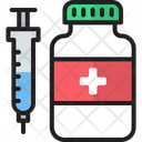 Drugs Injection Icon