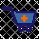 Drugstore Cart Medical Icon