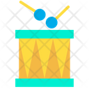 Toy Drum Childrens Drumkit Icon