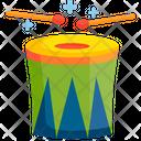 Drum Brazil Carnival Icon