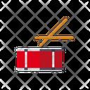 Drum Mallet Percussion Icon