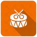 Drum Party Instruments Icon