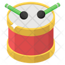 Rattle Drum Drum Musical Instrument Icon