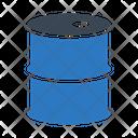 Drum Barrel Oil Icon