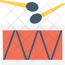 Drum Snare Hand Icon