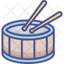 Drum Drum Beating Drum Set Icon