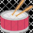 Drum Drum Beating Drum Set Icon