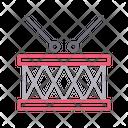 Drum Stick Music Icon