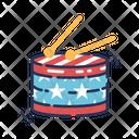 Drum Musical Instrument Drum Sticks Icon