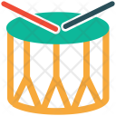 Drum Barrel Beat Icon
