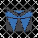Drum Music Sticks Icon