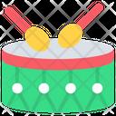 Celebration Drum Instrument Icon