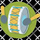 Drum Hand Percussion Icon