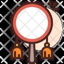 Drum Mirror Dressing Mirror Icon