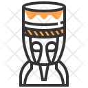 Drum Djembe Icon