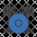 Drum Stick Instrument Icon