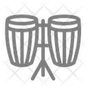 Double Instrument Music Icon