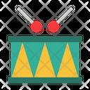Drum Percussion Music Instrument Icon