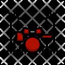 Drum Beat Rhythm Icon