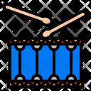 Drum Orchestra Drumsticks Icon