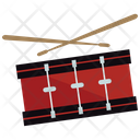 Drum And Sticks Icon
