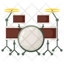 Drum Band Drum Drum Kit Icon