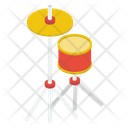 Drum Kit Drum Set Musical Instrument Icon