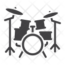 Drum Kit Set Icon