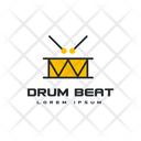 Drum Beat Drum Tag Drum Label Icon