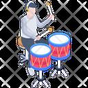Drum Music Icon