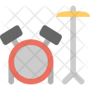 Drum Set Drum Instrument Icon