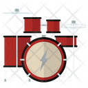 Drum Set Music Instrument Instrument Icon