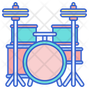 Drum Set Music Song Icon