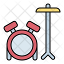 Drum Set Instrument Icon