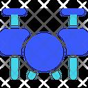 Drum Set Drum Beating Drum Kit Icon