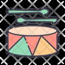 Drum toys Icon