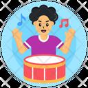 Drum Drumbeat Artist Icon
