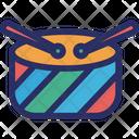 Drumbeater Drum Instrument Icon