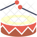 Drums Music Play Icon