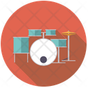 Drums Drumset Rhythm Icon
