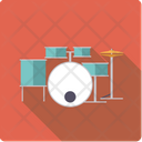Drums Drumset Percussion Icon