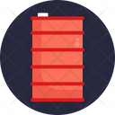 Drums Container Shipping And Delivery Icon