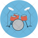 Drums Music Instruments Icon