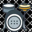 Drums Kit Set Icon
