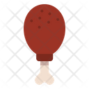 Drumstick Chicken Fastfood Icon
